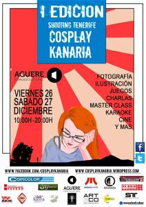Cartel Cosplay Kanaria