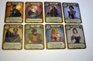 Cartas de personajes